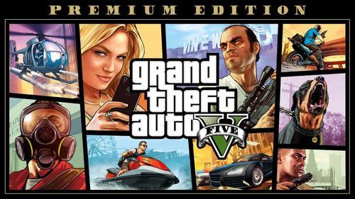 gta v pc premium edition (grand theft auto v)