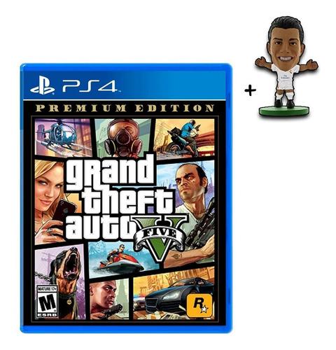 gta v premium edition juego playstation 4 nuevo sellado!!!