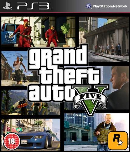 gta v ps3 grand theft auto / digital sub español