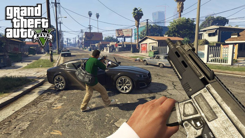 gta v ps4 fisico grand theft auto v gta5 nuevo sellado