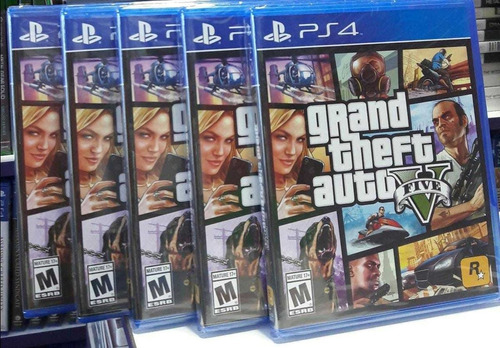 gta v ps4 nuevo sellado stock
