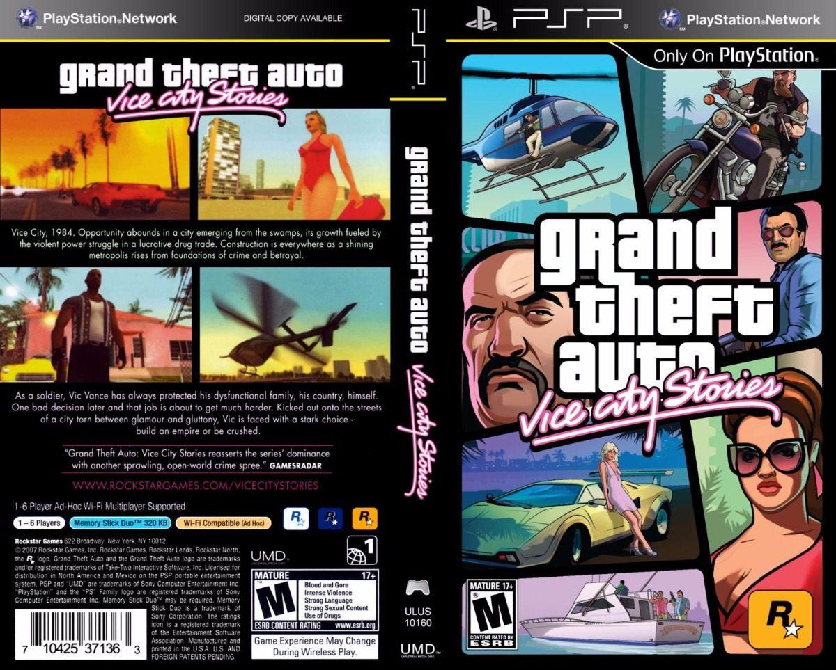 vice theft grand gta psp stories iso playstation multiplayer vicecity cheat descarga capa hitz capas adf ly