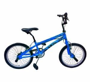 gti bicicleta aro 20  estilo libre fluorescente incluido iva