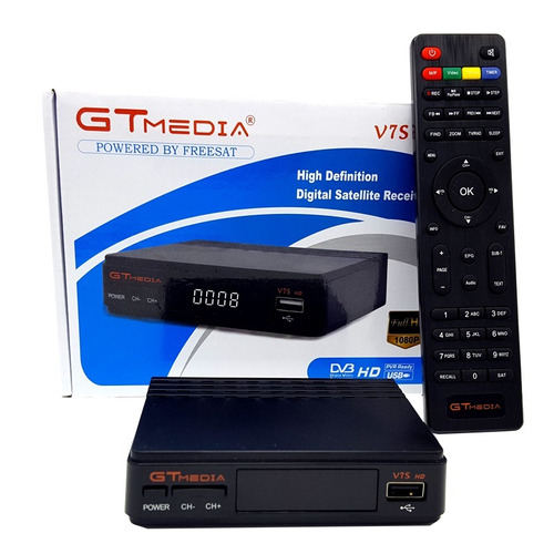 gtmedia freesat v7s 12 meses de servicio