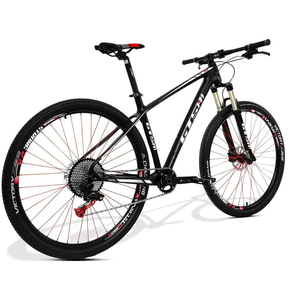 eb23e3f99d32c Carregando zoom... bicicleta gts carbono aro 29 freio á disco câmbio srx  1x11