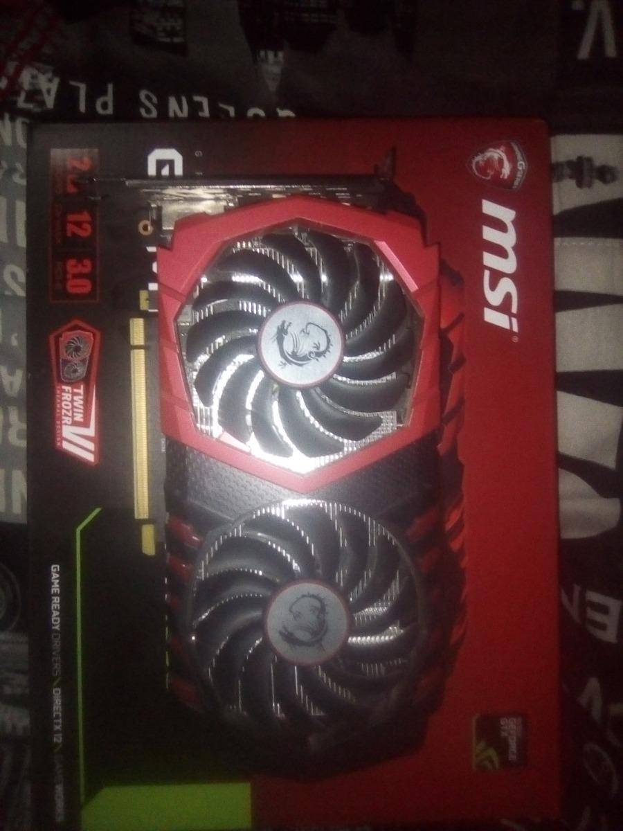 Gtx 1050 Msi Dual Fan 2gb Gaming X
