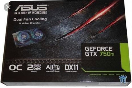 gtx 750 ti 2gb asus dual