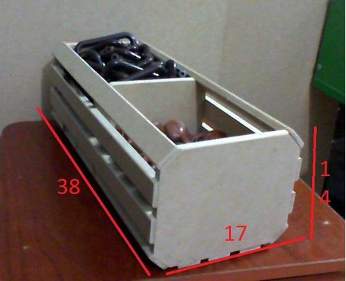 guacal doble 38 por 17 por 14 cotillòn adorno centro de mesa