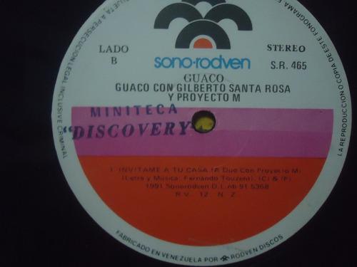 guaco con gilberto santa rosa y proyecto m - vinyl lp salsa