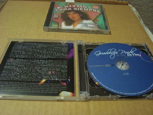 guadalupe pineda lote de cd nuevo y cd doble usado en vivo
