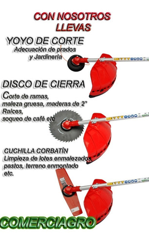 guadañadora shindaiwa b45/disco cierra/cuchilla/flete gratis