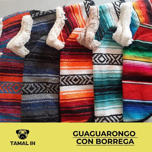 guagaurongo con borrega - talla 00 (doble 0)