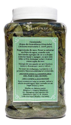 guanabana hojas 50 grs 100% naturales