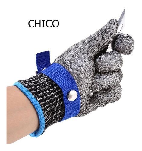 guante acero inox malla protección todas las tallas stab