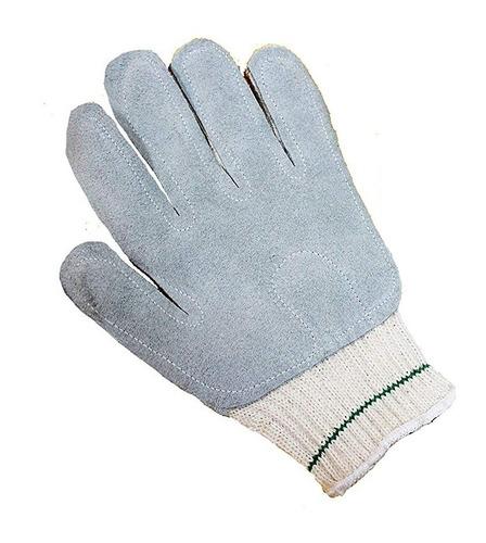 guante algodón palma de carnaza solo mano izquierda