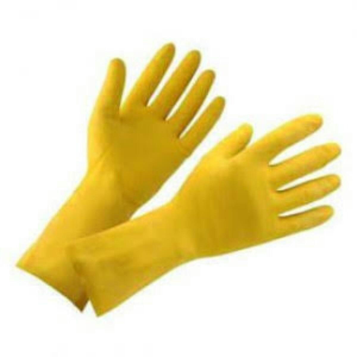 cc689ed6fca7d Guante amarillo domestico de latex en mercado libre jpg 1200x1200 Guantes  latex amarillos