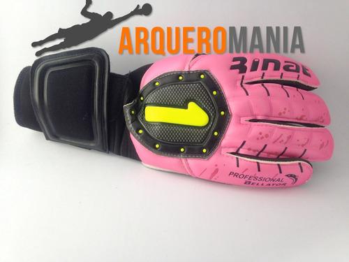 guante arquero rinat bellator pro rosa / arqueromanía