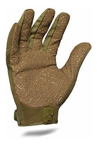 guante de agarre táctico ironcold exot-godg-03-m, verde od,
