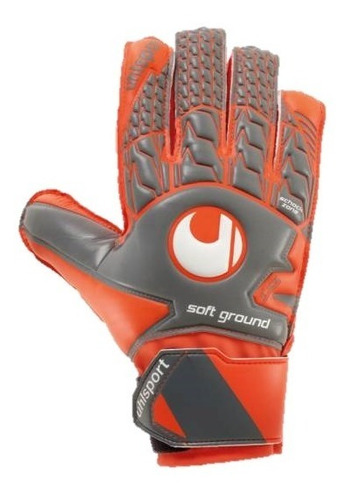 guante de arquero uhlsport - aerored soft advanced