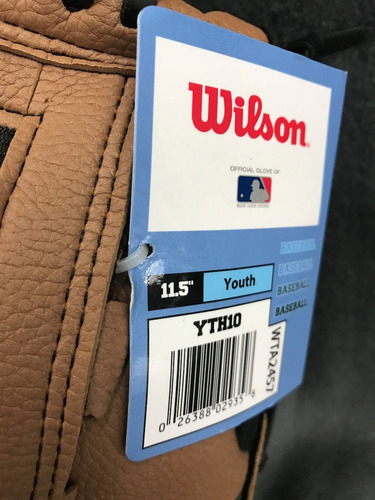 guante de beisbol a300 joven 11.5 11.5' yth10 oficial