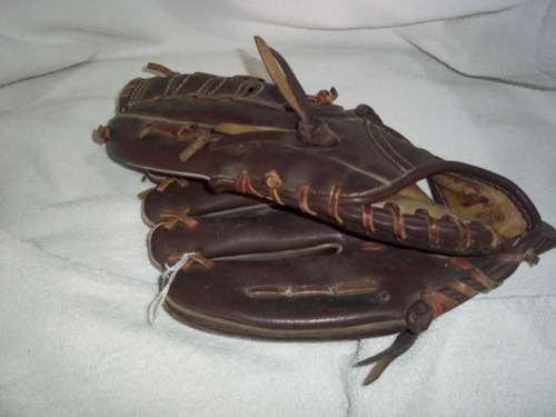 guante de beisbol de cuero marca roddy