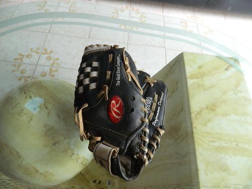 guante de béisbol marca rawlings