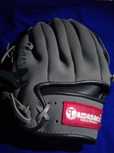 guante de béisbol palma de cuero 11.1/2 tamanaco derechos