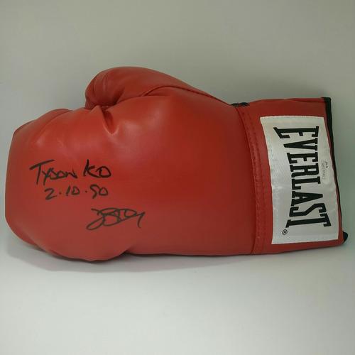 guante de box firmado por buster douglas envio gratis