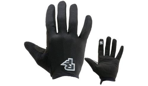 guante de ciclismo raceface podium glove-black