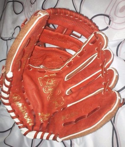 guante de cuero robinson profesional de beisbol 13.5 inches