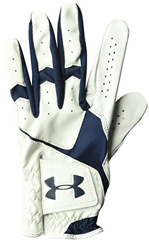 guante de golf coolswitch para hombre under armour, blanco /