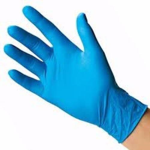 guante de nitrilo libres de polvo