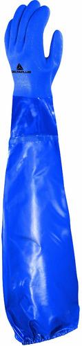 guante de pvc  largo 62 cm delta plus - francia