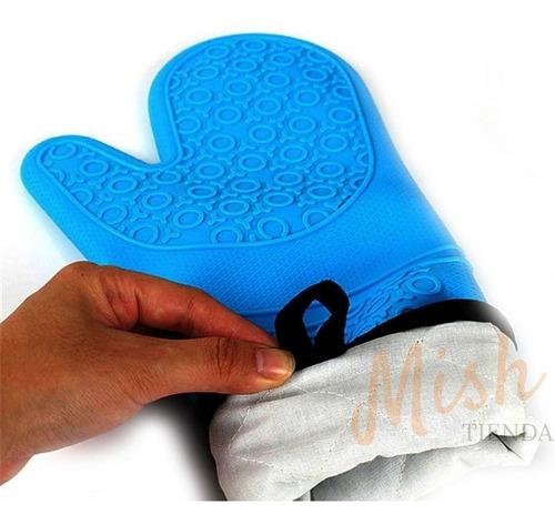 guante de silicona resistente al calor - tiendamishcl