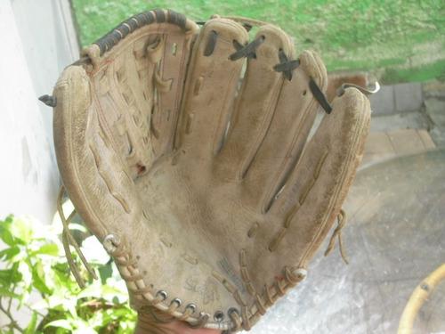 guante de softball.