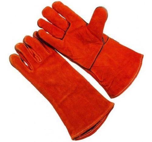 guante descarne soldador kevlar largo 1ra calidad
