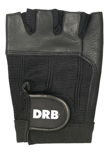 guante drb® pesas crossfit fitness gym cuero maximo agarre