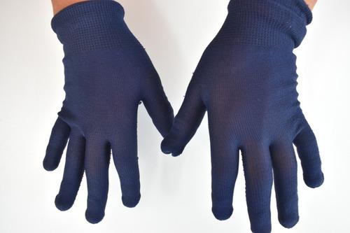 guante economico de tela antiderrapante 1 par en color gris