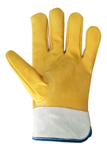 guante electricista piel de res