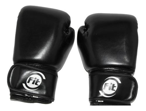 guante entrenamiento de boxeo hombre 12 oz negro