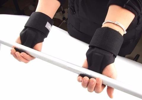 guante gancho de levantamiento de pesas