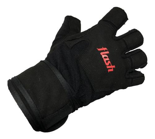 guante gel protect pesas ne flash unisex