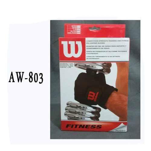 guante / guantin  para pesas wilson gym  aw803