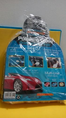 guante hércules para pulir carros botes casa (6 x 10)