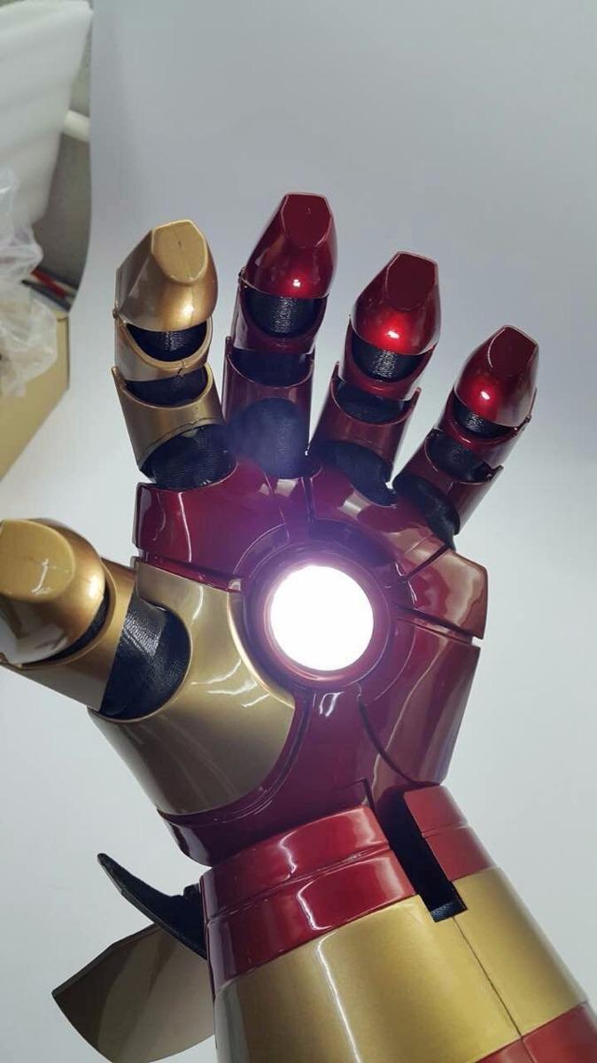Guante Iron Man Mark 42 Ironman Brazo Funcional Avengers