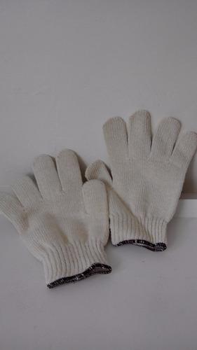 guante japonés blanco/gris