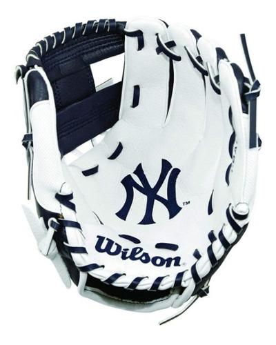 guante manopla beisbol infantil yankees 10 plg. envío gratis