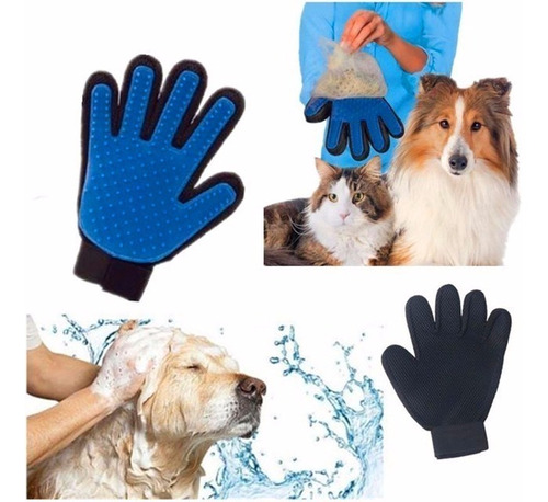guante masajeador para perros y gatos