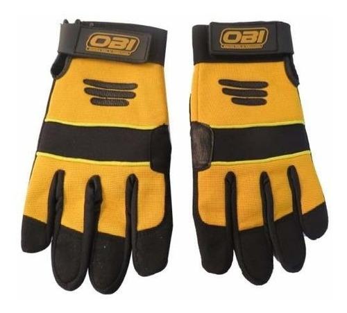 guante mecanico negro/amarillo grande obi