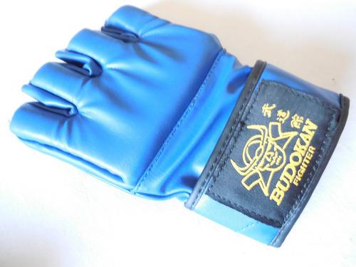 guante mma budokan fighter blue mma kick boxing thai